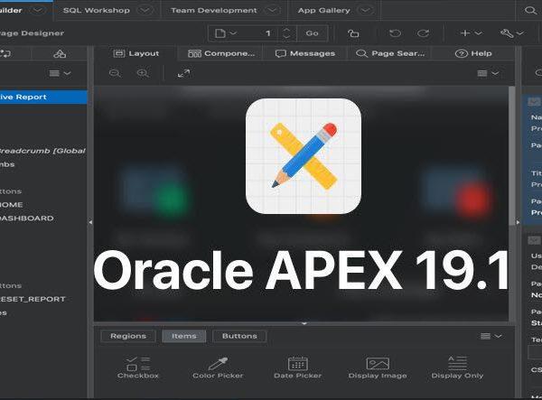 اوراکل اپکس-oracle apex 19.1