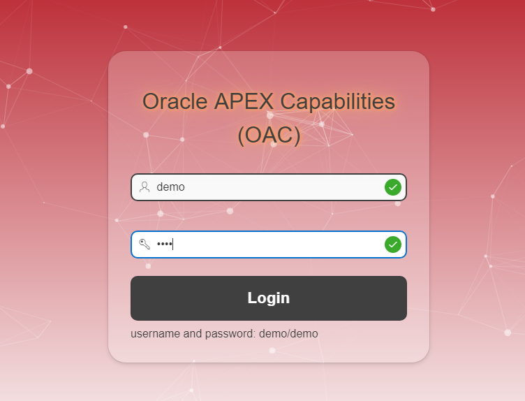 اوراکل اپکس-oracle apex capabilities-oac