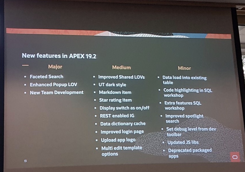all new features apex 19.2