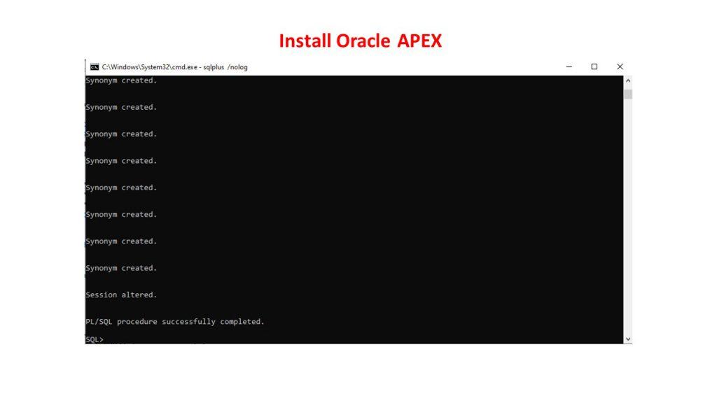 نصب و راه اندازی (Standalone) اوراکل اپکس(ایپکس)-19
