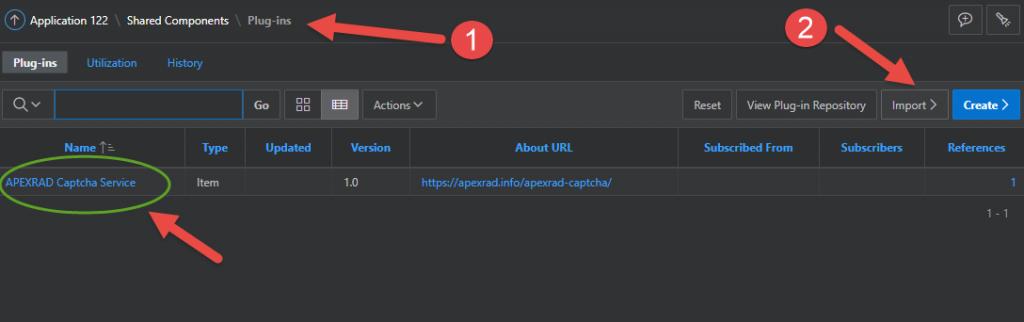 اوراکل اپکس(ای پکس)- پلاگین سرویس کد امنیتی اوراکل5