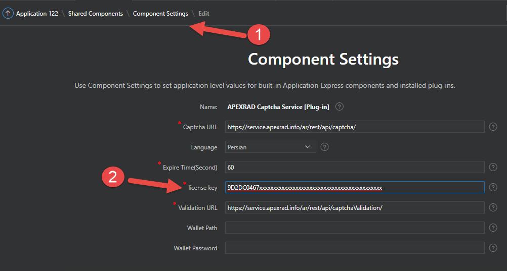 اوراکل اپکس(ای پکس)- پلاگین سرویس کد امنیتی اوراکل4