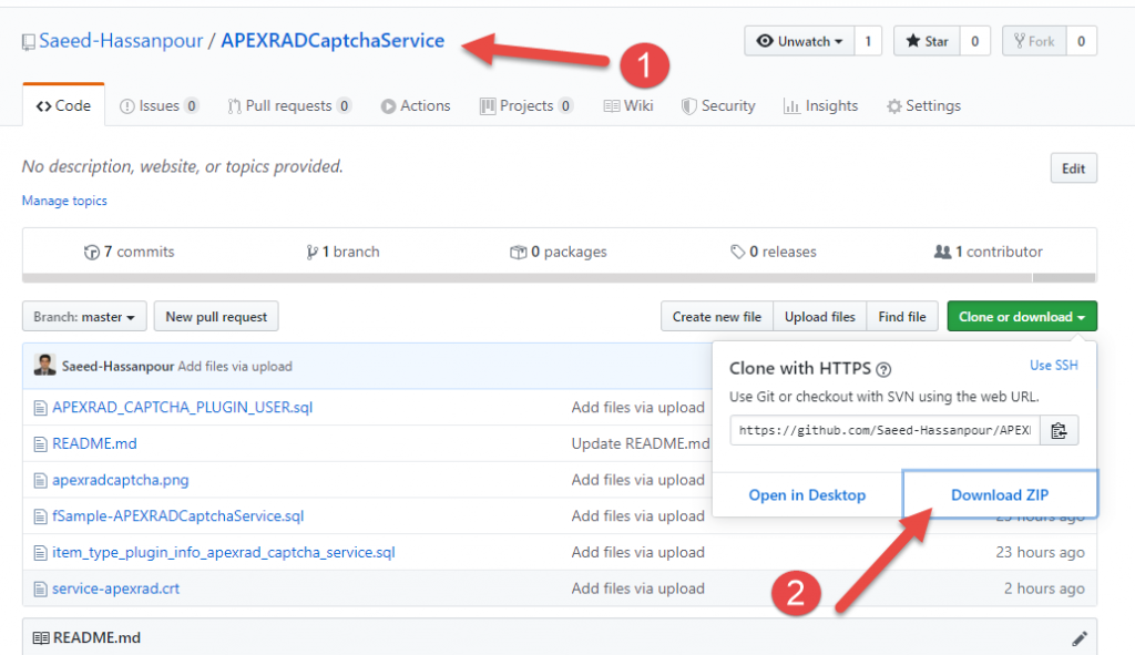 اوراکل اپکس(ای پکس)- پلاگین سرویس کد امنیتی اوراکل1