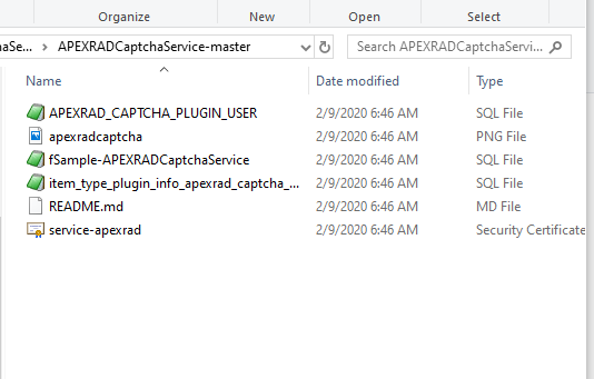 اوراکل اپکس(ای پکس)- پلاگین سرویس کد امنیتی اوراکل2